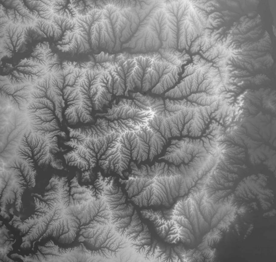 Introduction To Geographic Data Formats - Digital elevation model download